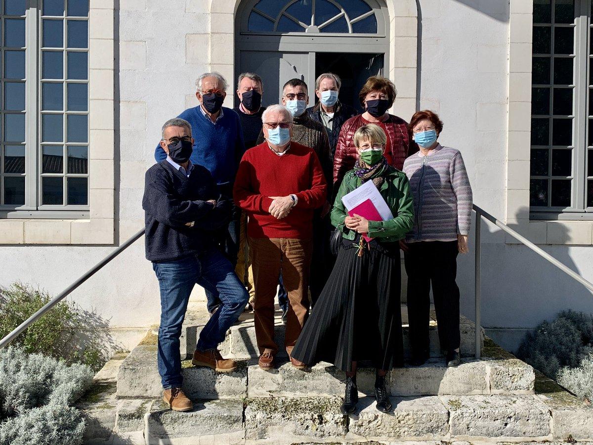 @Senat @UC_Senat @DepVendee #senateurdeterrain a la rencontre des élus de @ile_noirmoutier commune de l'Épine