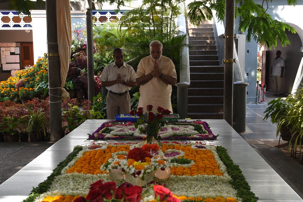 Three years ago, in February 2018, I had the opportunity to visit Puducherry and Auroville.   Here are some pictures from the visit.