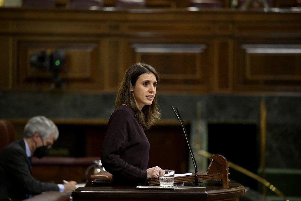 ♀️ La ministra de Igualdad, @IreneMontero, explica en el @Congreso_Es todas las medidas que este Ministerio ha puesto en marcha durante el primer año de Gobierno👇🏽