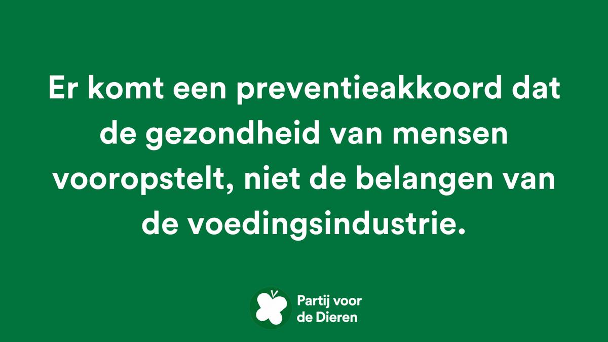 test Twitter Media - 250 redenen om #PvdD te stemmen 💚 - nr. 175. #PlanB #TK2021  Er komt een #preventieakkoord dat de gezondheid van mensen vooropstelt, niet de belangen van de voedingsindustrie. https://t.co/wEvcSDBdWV