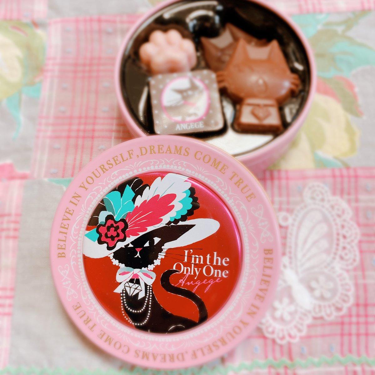 test ツイッターメディア - ニャンのチョコレート ⑅*ॱ˖• 可愛い  蓋のマドモアゼルなニャンはマグネットになっているので裏側に移動して〜まち針ひっ付くまち針ケースにしました°・*:.。.☆  #ゴンチャロフ #チョコレート #チョコレート缶 #バレンタイン2021 https://t.co/rQFQSFZm6B