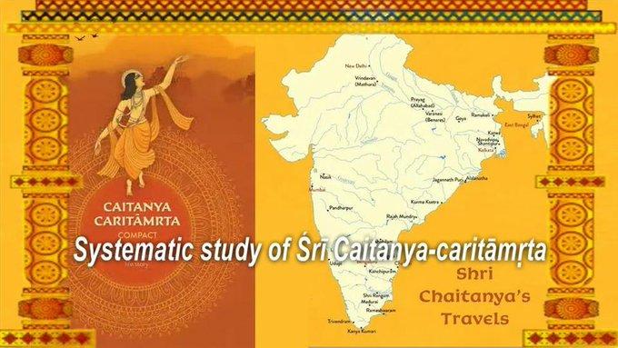Systematic study of Śrī Caitanya-caritāmṛta with HG Sutapa Das (video)About Sutapa DasA vis....