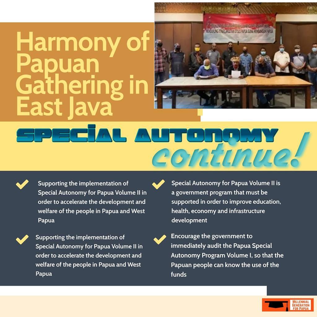test Twitter Media - Special Autonomy for Papua Volume Il is een overheidsprogramma dat moet worden ondersteund om onderwijs, gezondheid, economie en infrastructuurontwikkeling te verbeteren https://t.co/13EJEjmwkO
