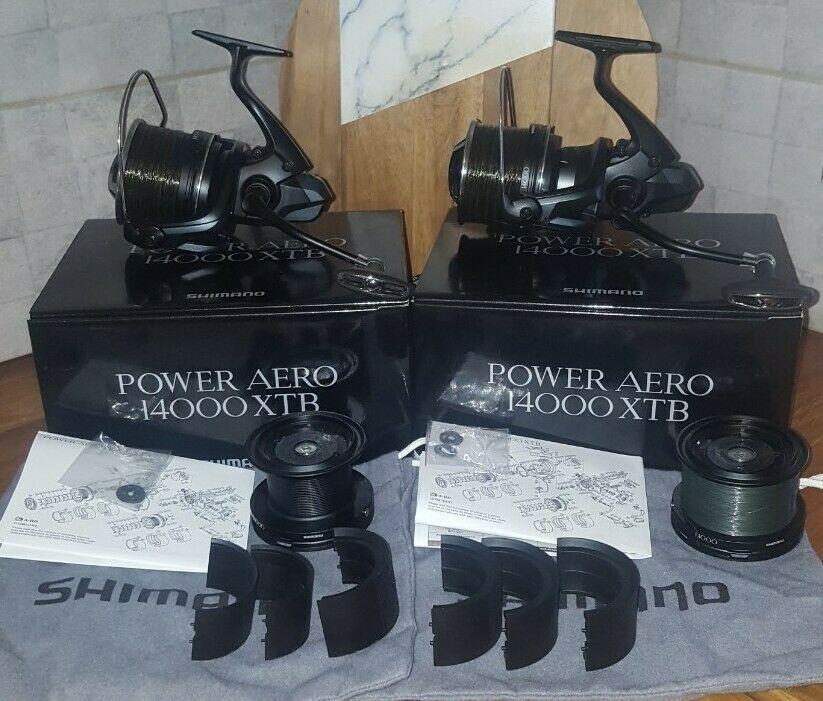 Ad - Shimano Power Aero 14000XTB x2 On eBay here -->> https://t.co/ZcFYf6iN8l  #carpfishing ht