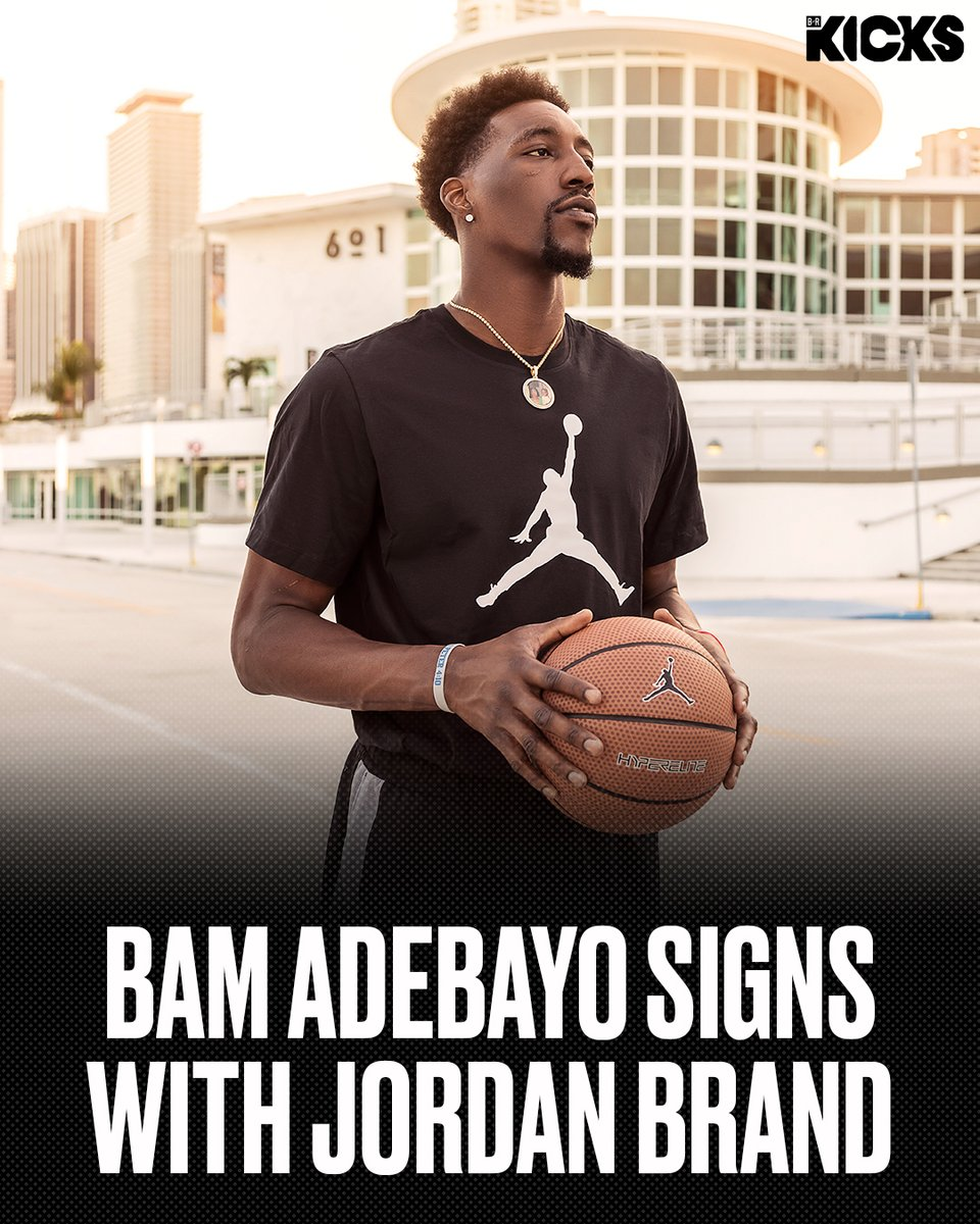Breaking: @Bam1of1 signs with Jordan Brand