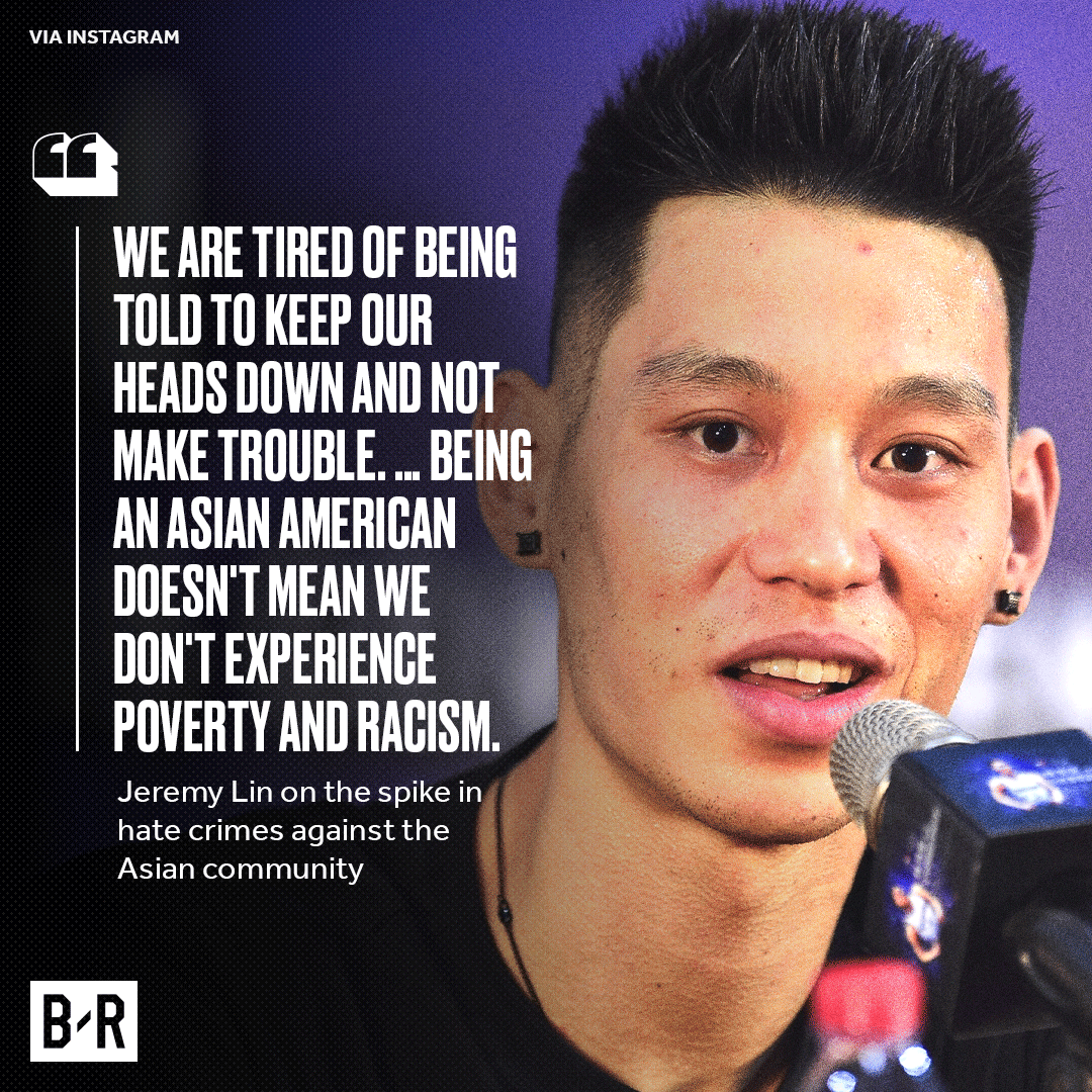 .@JLin7 speaks out on racist attacks against the Asian community.
