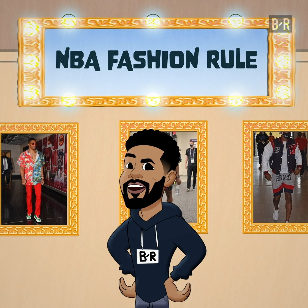 """""""I was bothered by it because I felt like they were targeting people that dress like me""""  Looking back on the NBA's 2005 """"business casual"""" dress code and how it was left behind for today's free expression of fashion 👟"""