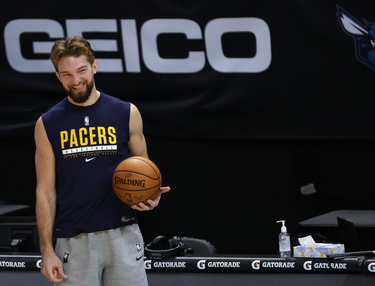 Domantas Sabonis will earn a $1.3M bonus for being selected to the All-Star Game, per @BobbyMarks42  Wow.