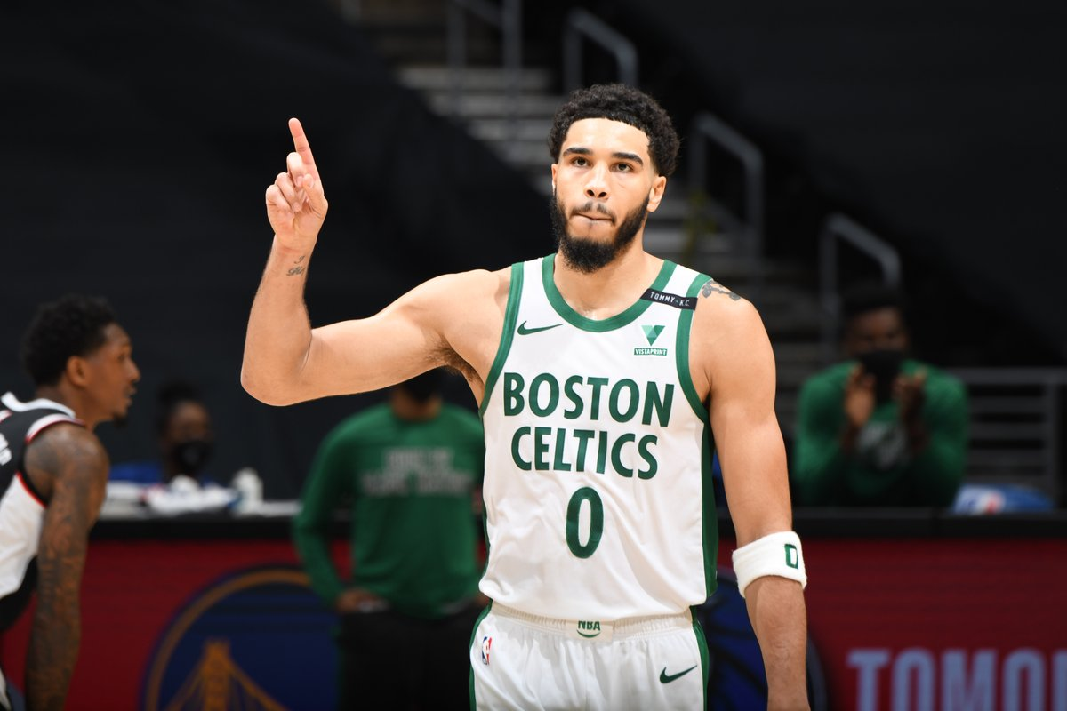 Jayson Tatum will replace KD as a starter in the All-Star game