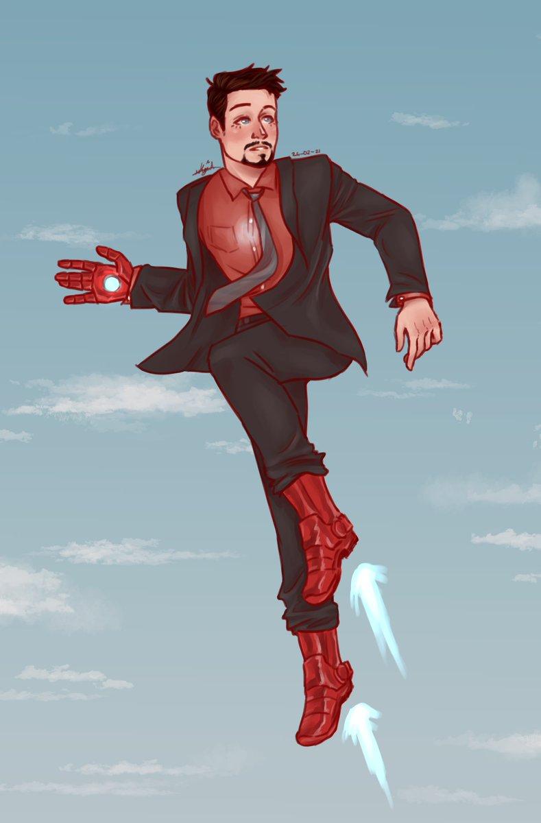 A flying Tony because I love him ☺️❤️