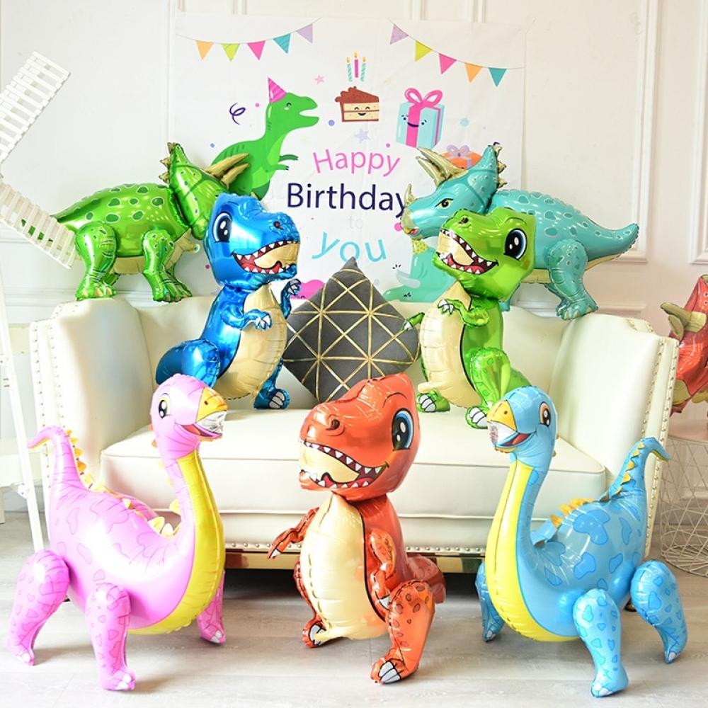 Large 4D Children Dinosaur Birthday Party Jurassic World Decor Balloon #igers...