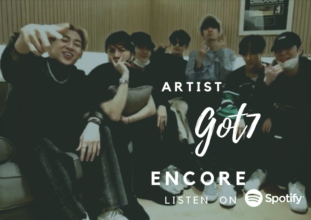 #Encore  On Spotify  (2021.02.26 )   #47   Thailand  - 22,246(-1)  #115  Taiwan  - 9,524 (new)👍 #147  Malaysia  - 7,339 (+6) #194 Indonesia  - 31,010 (+11) Stream 🐥 #Encore_StreamingParties #GOT7  #GOT7_Encore  @marktuan @JAYBDEF___  #jinyoung @GOTYJ_Ars_Vita