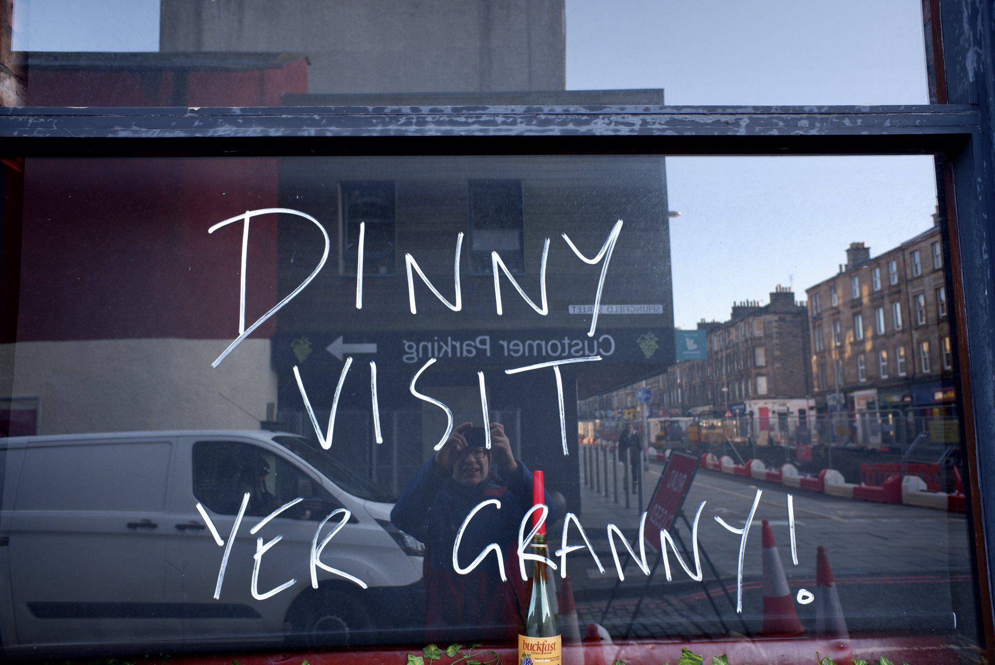 Important Public Heath Messages brought to you by concerned citizens of Leith #wordonthestreet #leith https://t.co/RoptkW19Ah