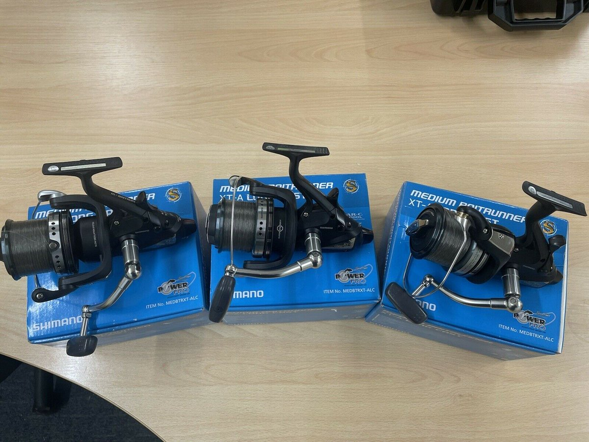 Ad - Shimano XTA Medium Long<b>Cast</b> Baitrunners x3 On eBay here -->> https://t.co/NYDFQpvN