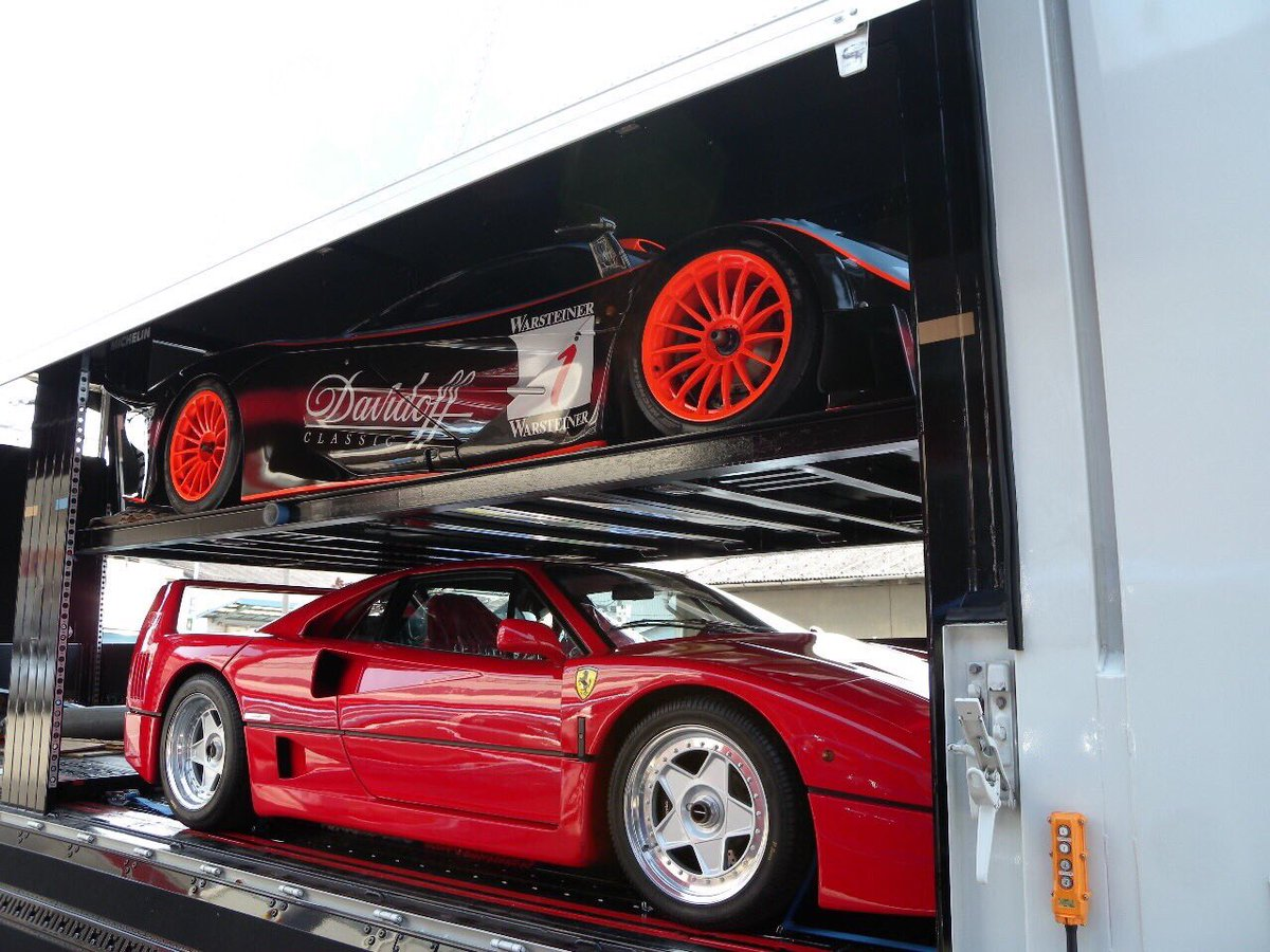 test ツイッターメディア - 過去picシリーズ!主治医のスーパーカー屋さんで積車に積まれたマクラーレンF1 GTRこれはめちゃくちゃ希少!世界に28台しか存在しない車が!F40とル・マンかよ!笑 この後GTRは有名なビ◯ゴスポーツであったような… https://t.co/BxuSqTpzfZ