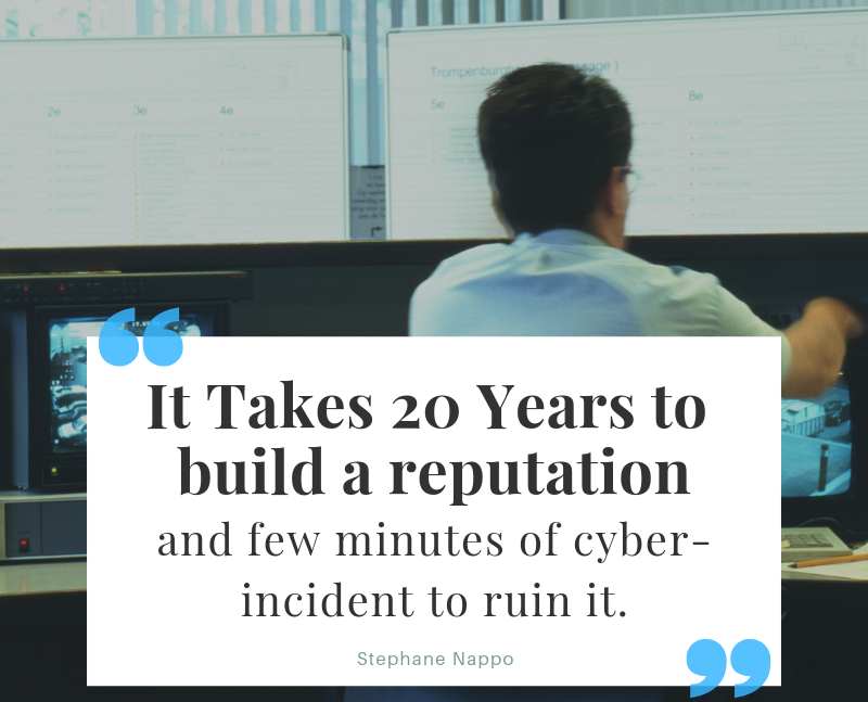It takes 20 years to build a reputation and a few minutes of cyber-incident to ruin it. Be wary of your brand on social media.   #ThinkBigSundayWithMarsha #Insurance #SocialMedia #Digital #Marketing #Innovation #Finance #Fintech #Branding #SmallBiz #B2B #RemoteWork #HR #Quotes https://t.co/MF0jbulsHO