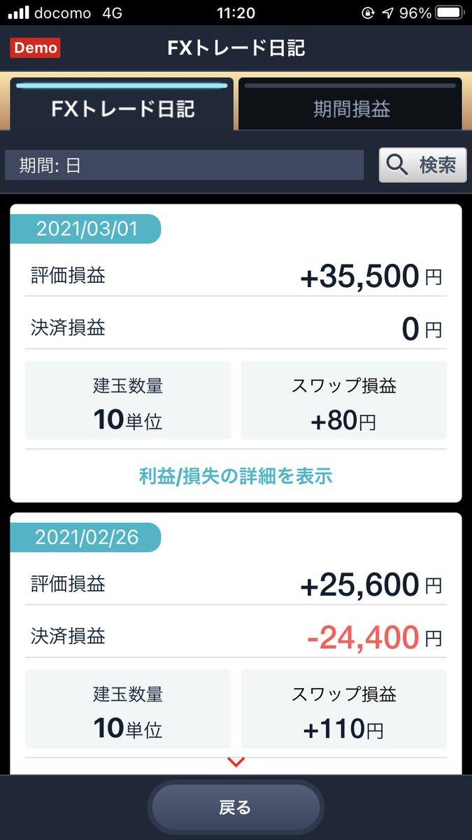 test ツイッターメディア - デモトレじゃなかったら任天堂スイッチ買える。  #FX #ドル円 #デモトレ https://t.co/UVe55F16jC