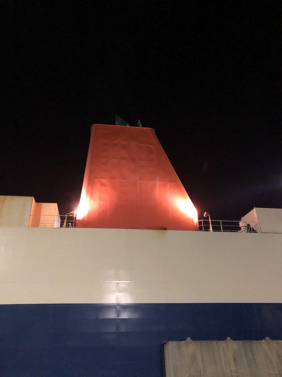test ツイッターメディア - 【九州貨物航路 Twitterキャンペーン】 船のファンネル(煙突)を見たことありますか? 様々な色や模様がありますが、船会社によって異なります💡 商船三井フェリーのファンネルの色は…是非チェックしてくださいね🤭 関東-九州の車両輸送は弊社まで‼ https://t.co/svw2S4OIVs #九州航送 #引越し https://t.co/sqCWzXmkeM
