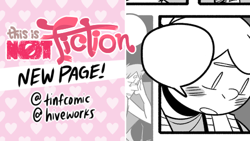 😲😬🥺😔💗 ??? NEW TINF update!   💗 chapter start:  💗 main:  💗 #tinfcomic #hiveworks