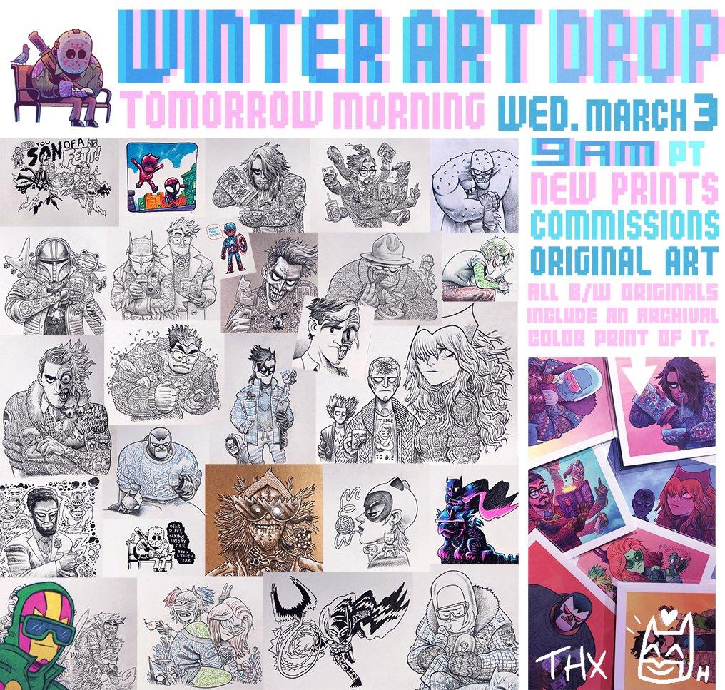 Art drop tomorrow morning 9am PT!