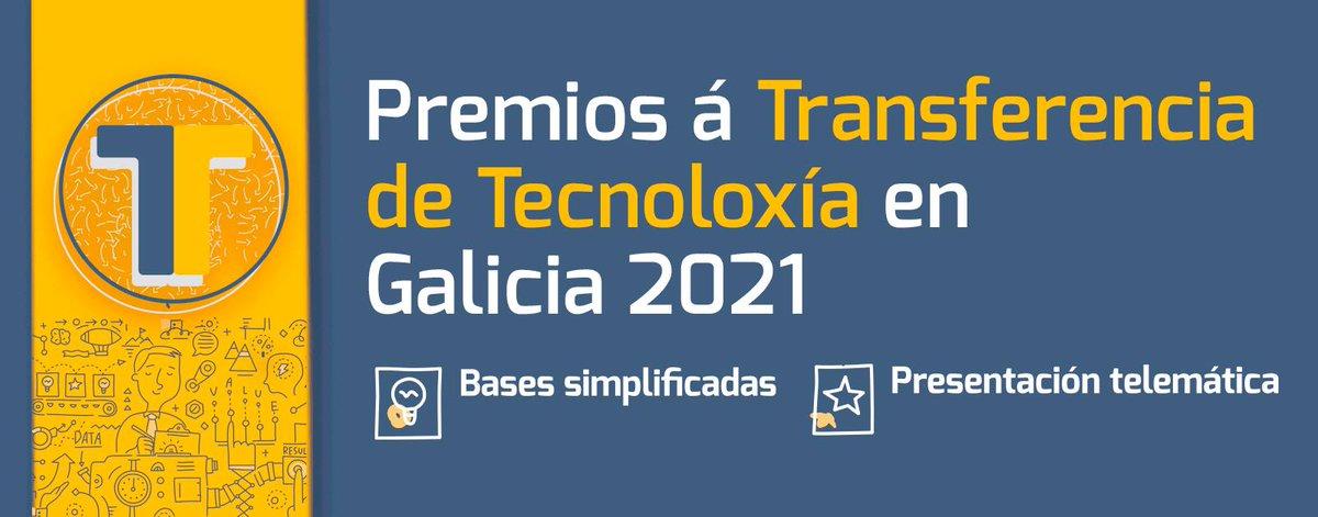 test Twitter Media - A @RAGalegaCiencia e @axenciaGAIN convocan os🏆Premios á Transferencia de Tecnoloxía en Galicia 2021.   ✅3 categorías, dotadas cada unha delas con 6.000 €. ✅Prazo de presentación de candidaturas: ata o 30 de abril.   ➡Información e bases dos premios: https://t.co/vwA5yxhC6v https://t.co/sRGCUoASM1