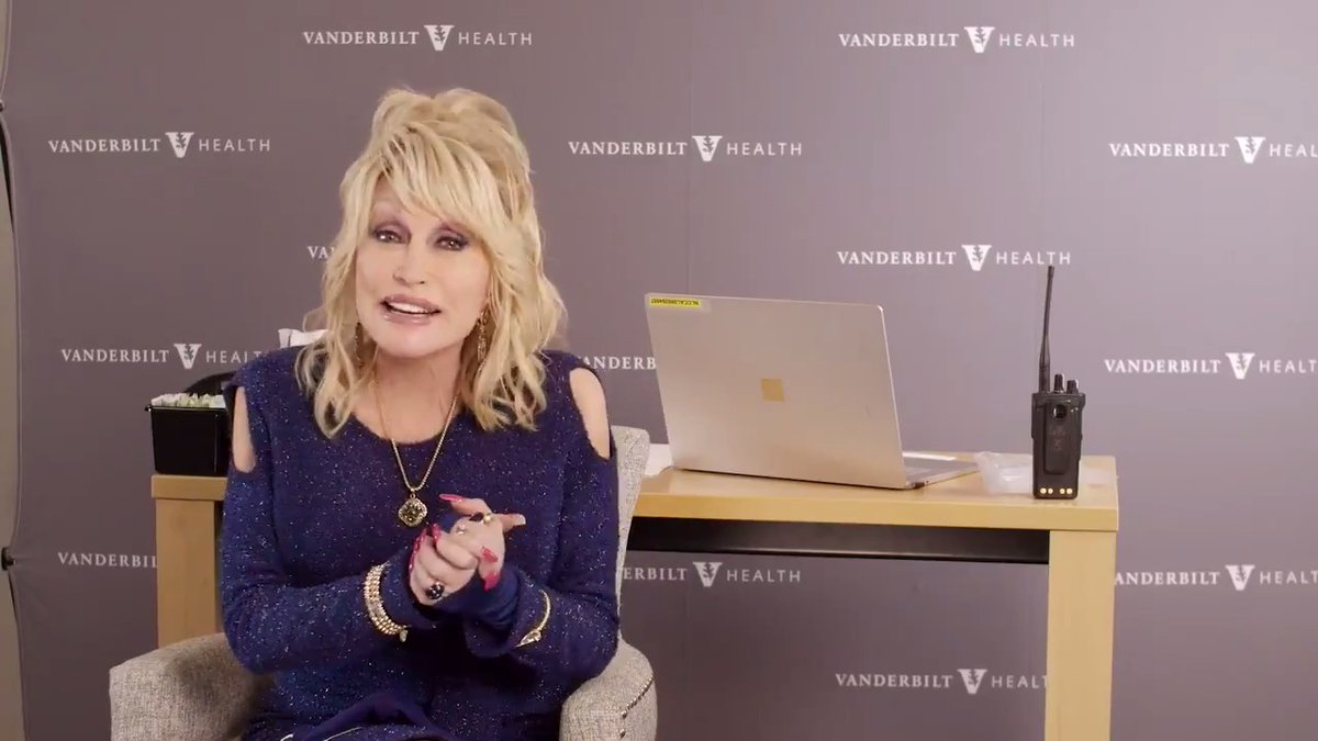 Dolly gets a dose of her own medicine.   @VUMChealth