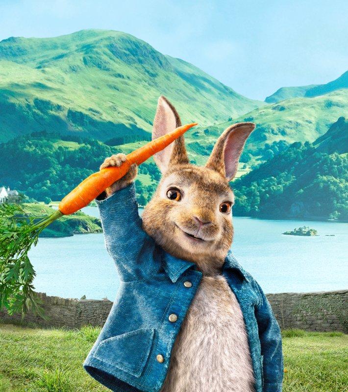 test ツイッターメディア - 映画「#ピーターラビット」🐰 3月5日(金)夜7時~放送します🥕 ウサギのピーターvs.大人の男マグレガー 想像のナナメ上いく爆笑の大ゲンカです😆 https://t.co/l0spgPZ8RE