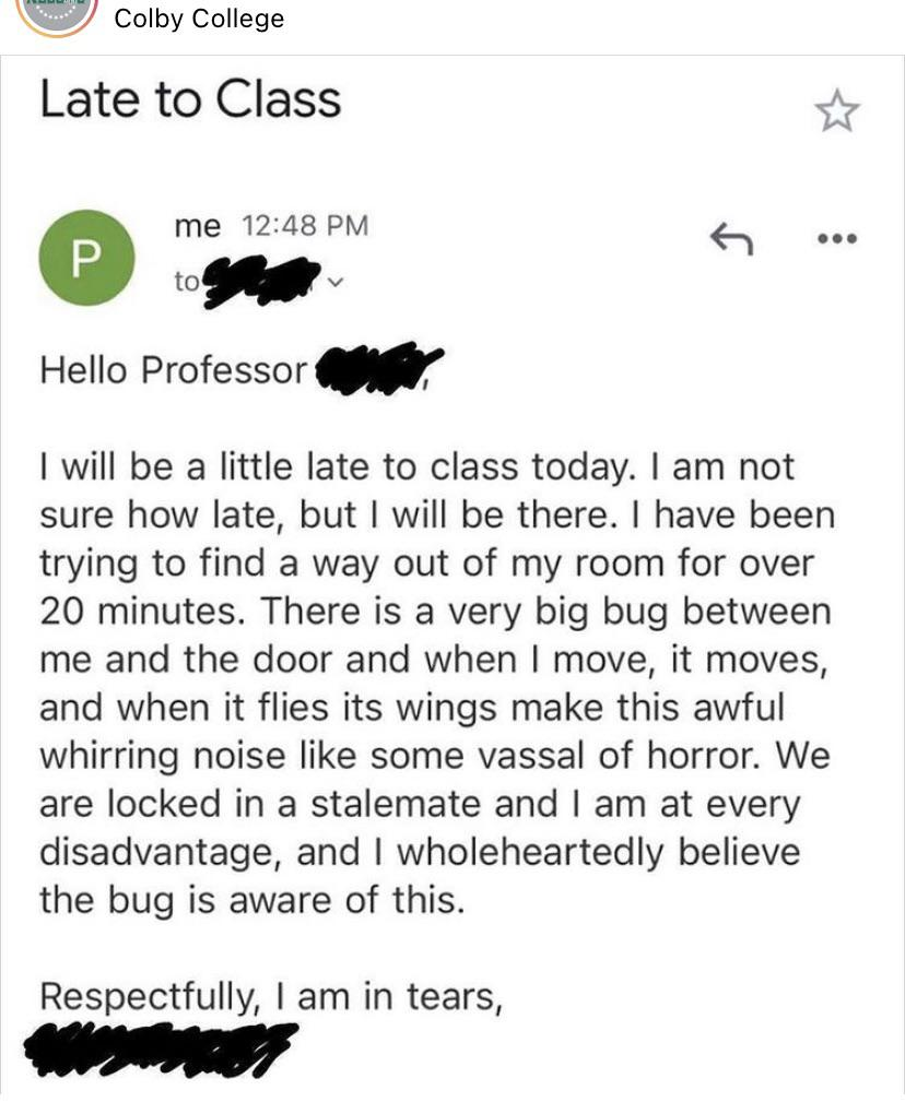 I wouldn't even be mad #AcademicChatter #AcademicTwitter