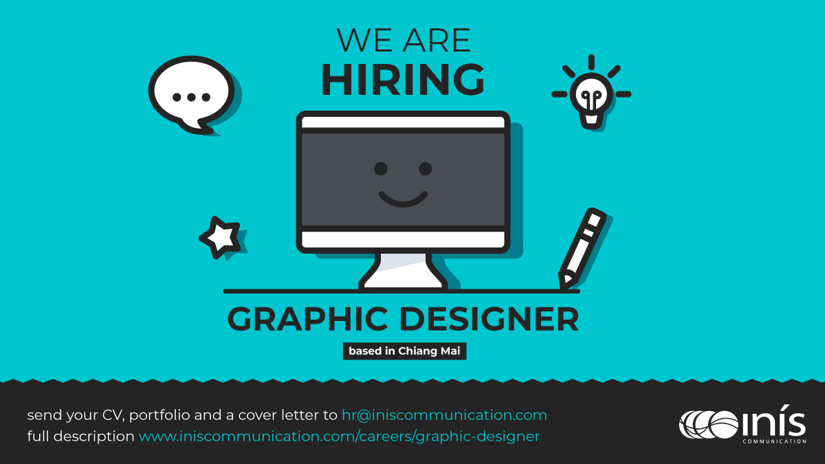 test Twitter Media - Inis is searching for a talented #designer to join our team in #ChiangMai, #Thailand. If you are an accomplished and creative designer, ready to work on some of the most pressing global social issues of today, then we'd love to hear from you... https://t.co/ewoGTofja4 https://t.co/WimpgwAoDi