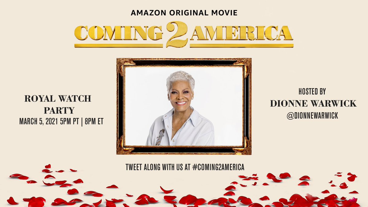Okay... Don't forget to come hang out with me tomorrow! We're watching #Coming2America! Bye! ❤️