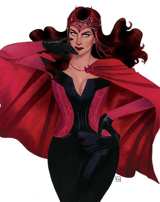 Comic Wanda Maximoff is just superior and the ONE AND ONLY Wanda I recognize and love. ❤️