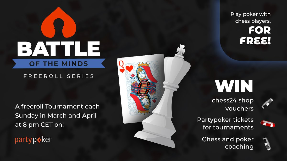 test Twitter Media - Always wanted to play poker (for free) between chess players? We are launching a Freeroll Series on @partypoker that starts tomorrow!  https://t.co/k3i0xyAbGk https://t.co/H86zsLqoFo