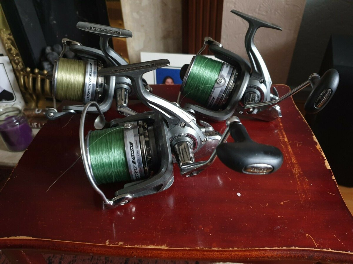 Ad - 3x Daiwa Wind<b>Cast</b> Z5500 Carp Reels On eBay here --> https://t.co/qR3dBPN3HX  #carpfis