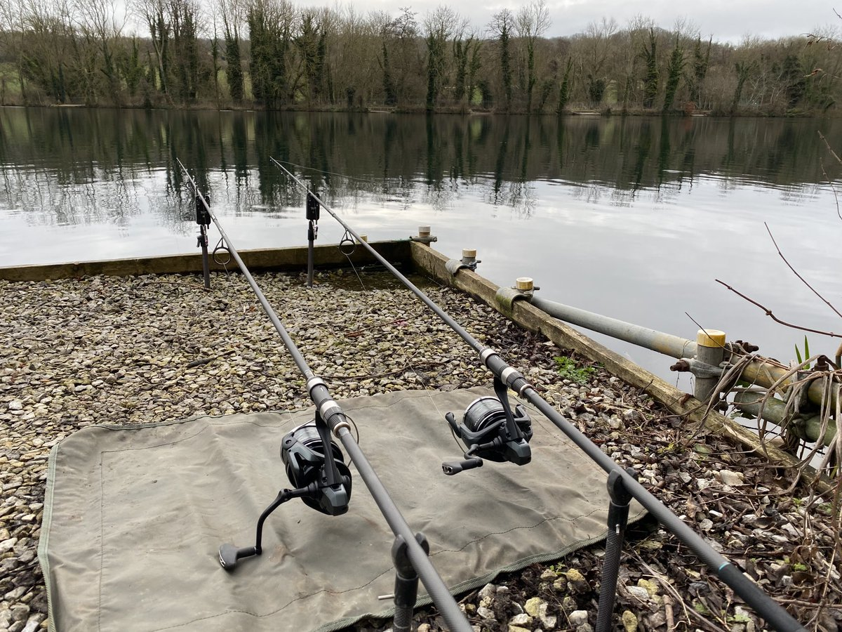 Can't beat it , we're the Only ones on the <b>Lake</b> . Fingers crossed 🤞🏼🤞🏼#carp #