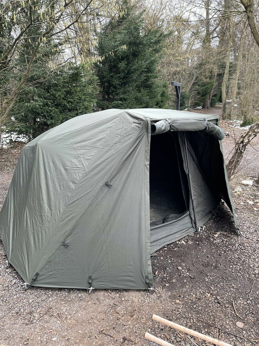 Ad - Nash Titan T1 Bivvy With HD Groundsheet And Winter Skin On eBay here -->> https://t.co/b8