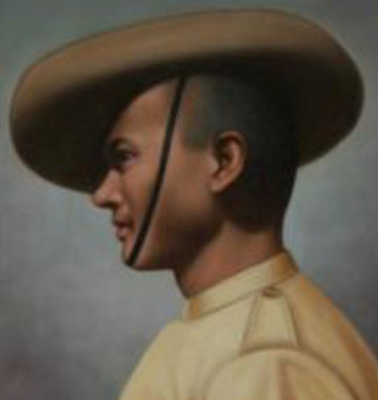 #OTD 10th March 1915, Rifleman Gobar Singh Negi of the 2/39th Garhwal Rifles was killed in action at Neuve Chapelle, France. He was posthumously awarded the #VictoriaCross and is remembered on the @CWGC Neuve Chapelle Indian Memorial. @adgpi #WW1 https://t.co/NLd2fWBIsF