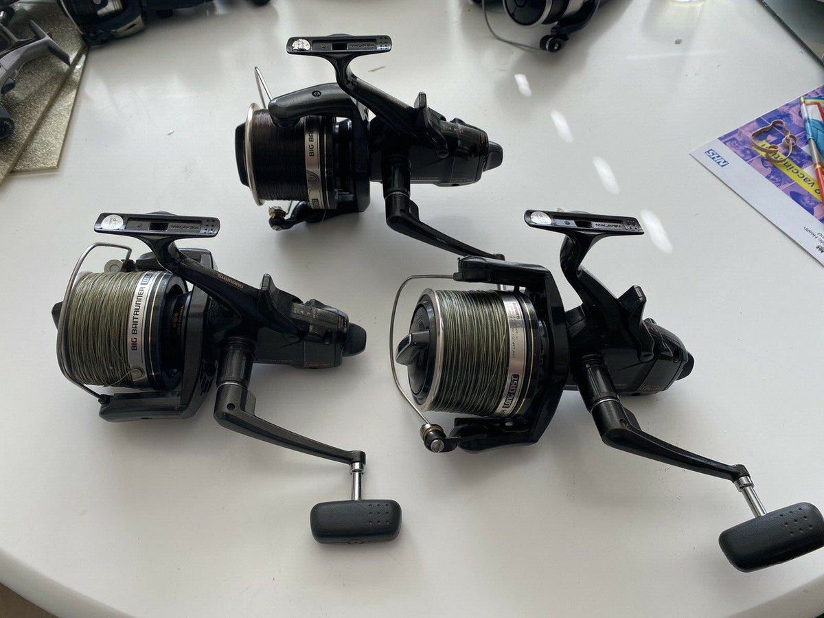 Ad - Shimano Big Baitrunner Long Cast original reels x3 On eBay here -->> https://t.co/CDJTLie