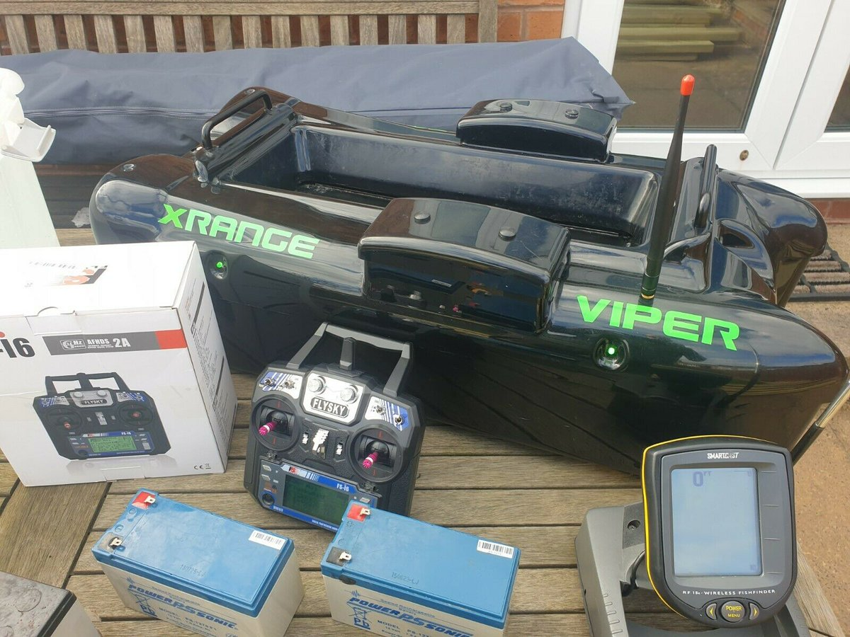 Ad - Viper X-Range Bait Boat with Humminbird SmartCast On eBay here -->> https://t.co/3R96mS2t