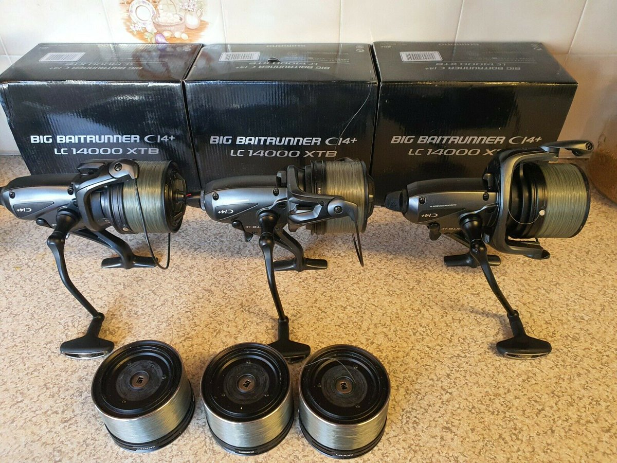 Ad - Shimano C14+ Long Cast Reels On eBay here -->> https://t.co/WABWnDZPcA  #carpfishing http