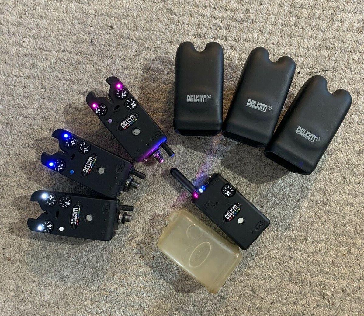 Ad - Delkim TXI Plus Bite Alarms x3 + Delkim RX Pro Receiver On eBay here -->> https://t.co/6l