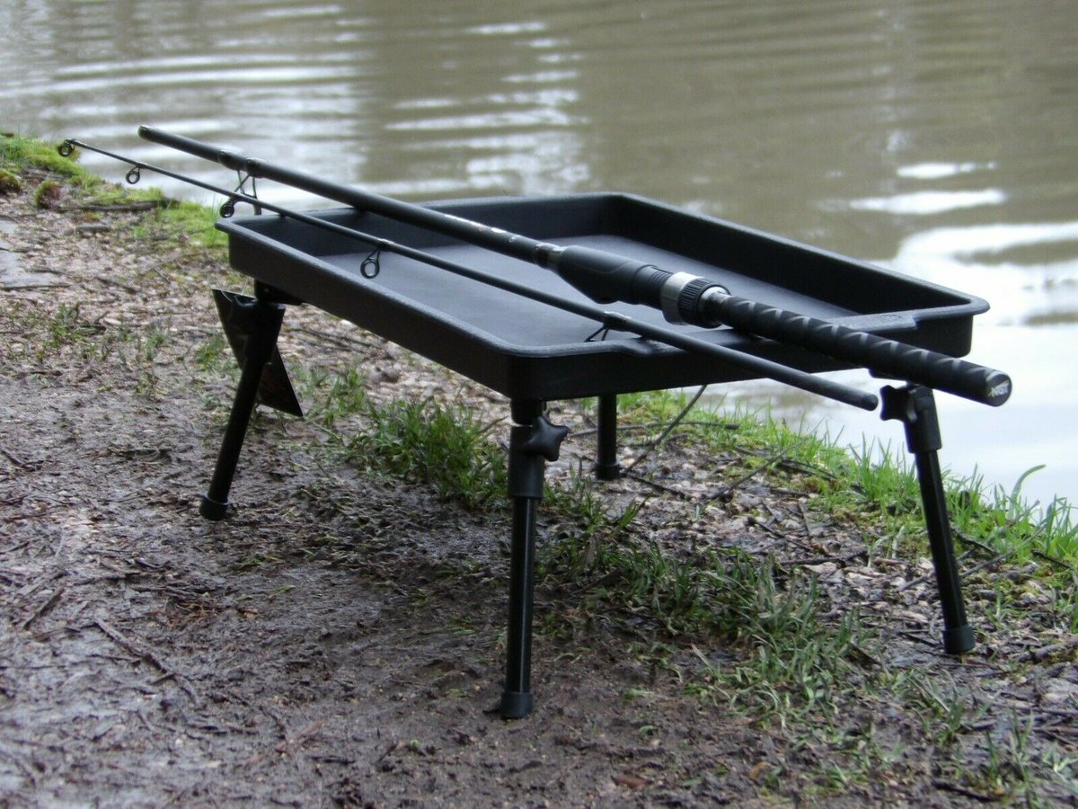 Ad - New Large Lightweight Bivvy Table On eBay here --> https://t.co/ChtbARRdMJ  #carpfishing #fi