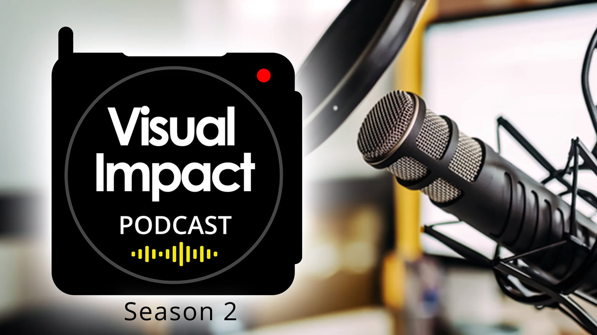 The Visual Impact Podcast will be returning for a second season on Wednesday 24th March.