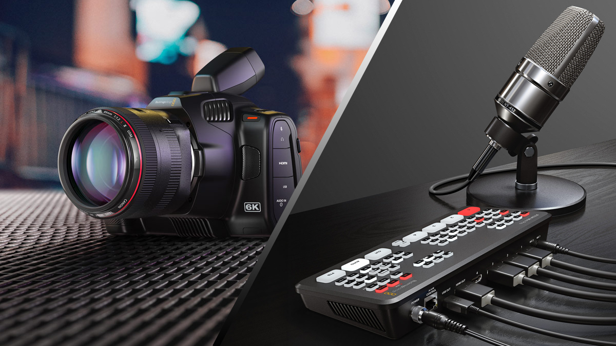 Our Web Broadcasting webinar with Blackmagic Design is LIVE right now! Use the link below to join the live stream.
