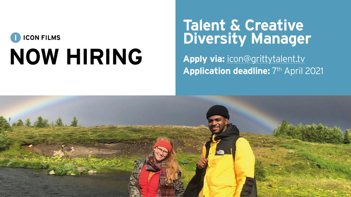 Are you passionate about helping people thrive in #TV? We're hiring for a Talent and Creative Diversity Manager to lead our #talent & community work. Ideal for someone who embraces #inclusion & works with creative talent. Apply by 07.04.21 - more info: https://t.co/KQLoGD1mL0 https://t.co/P6ySU9WiZ7