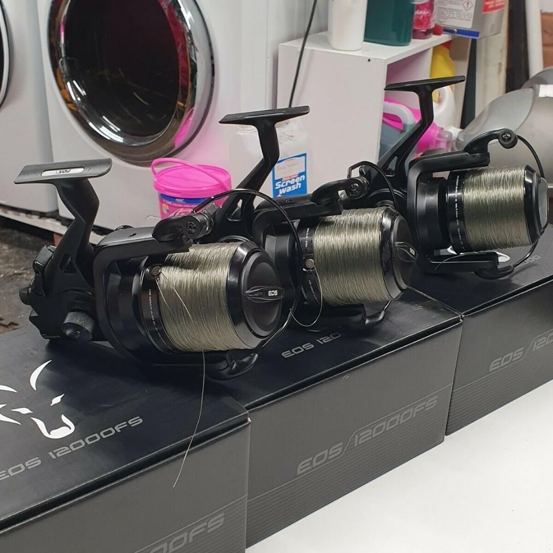 Ad - Fox EOS 12000 FS  x3 On eBay here --> https://t.co/veUGF1UTZu  #carpfishing #fishingtackle h