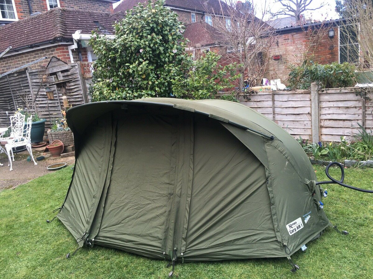 Ad - KAMPA CARP 1 BIVVY AND WINTER WRAP  On eBay here --> https://t.co/QEzDNgY5wq  #carpfishing #