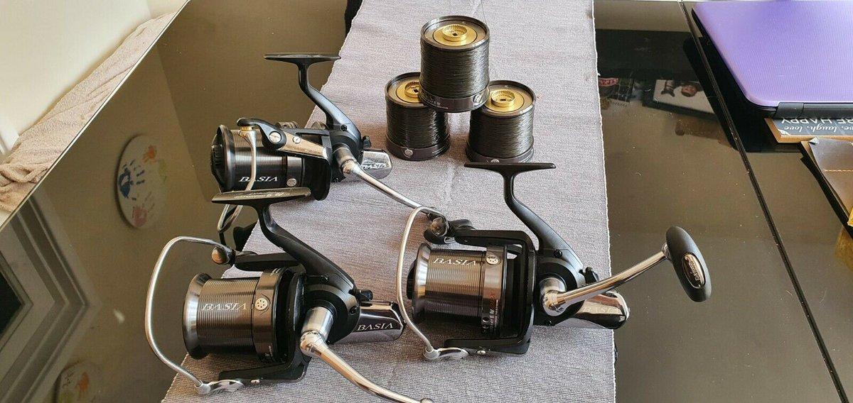 Ad - 3 X Daiwa Basia QDX Big Pit Reels On eBay here --> https://t.co/kYZdwo91mO  #carpfishing #fi