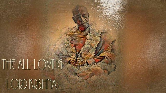 The all-loving Bhagavan Shri Krishna (video)Srimad Bhagavatam 1.8.2-3, Speaker: HG Harisauri Pra....