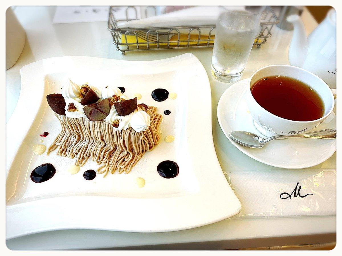 test ツイッターメディア - 昔京都に行った際、リスナーさんに辻利のパフェとマールブランシュのモンブランだけは食べて帰って下さいとススメられて…  前回食べれなかったマールブランシュの『絞りたてのモンブラン🌰』食べて来ました🍽  すごく美味しかったです♪ 京都に来たらオススメ✨  #マールブランシュ #モンブラン #京都 https://t.co/ONjXgVFMfH