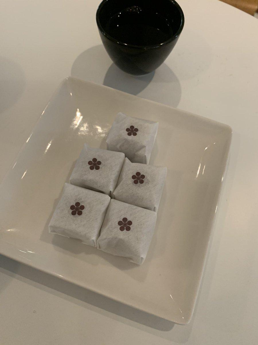 test ツイッターメディア - 昨日はとある茶道のお家元をご紹介いただき🍀✨ なんと、私も大好き故郷の味山田屋まんじゅうをいただきました❤️ お家元も大好きだそうで❤️ https://t.co/a1og2B7tCv